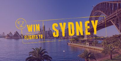 Win flights to Sydney