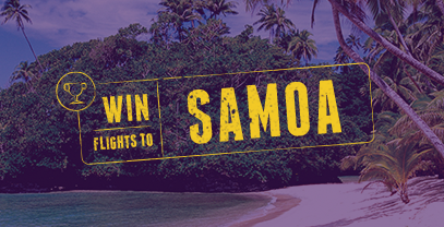 Win flights to Samoa